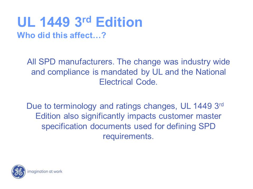 UL+1449+3rd+Edition+Who+did+this+affect%E2%80%A6 surge protective devices ppt video online download UL 1449 Symbol at n-0.co