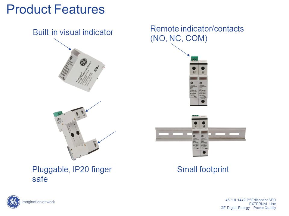 Product+Features+Remote+indicator%2Fcontacts+%28NO%2C+NC%2C+COM%29 surge protective devices ppt video online download UL 1449 Symbol at n-0.co