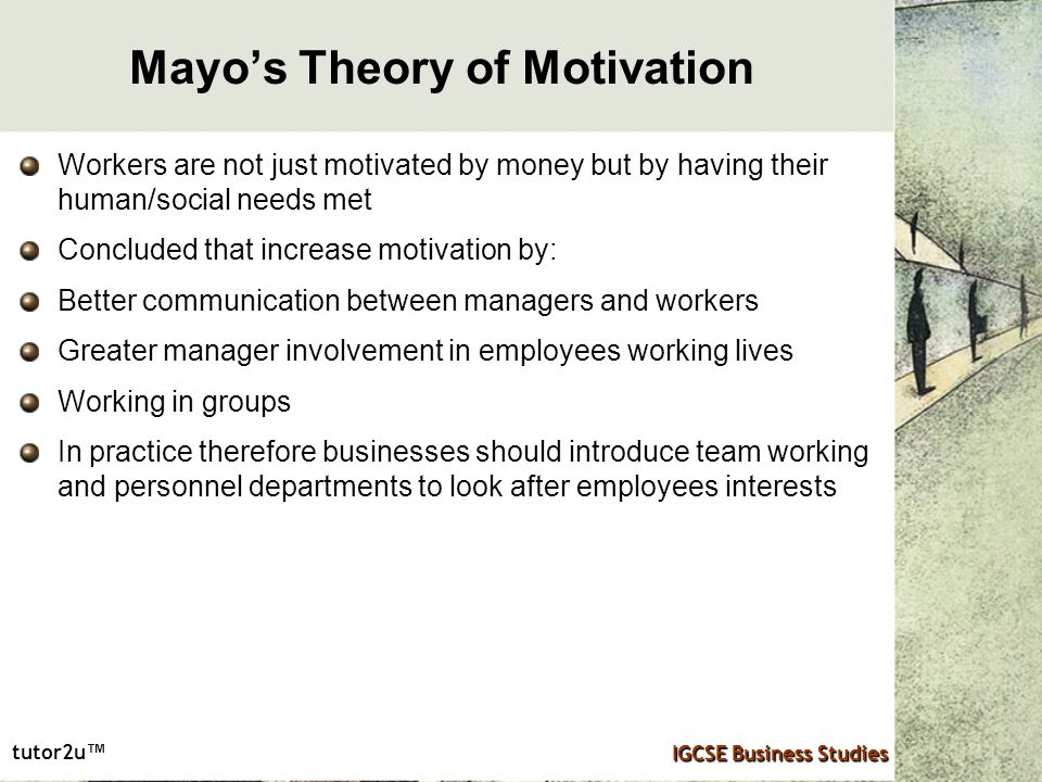 employee interests control and motivation Techniques and theories of employee motivation  and control job rotation this technique is used to make the employees expertise in performing various tasks .