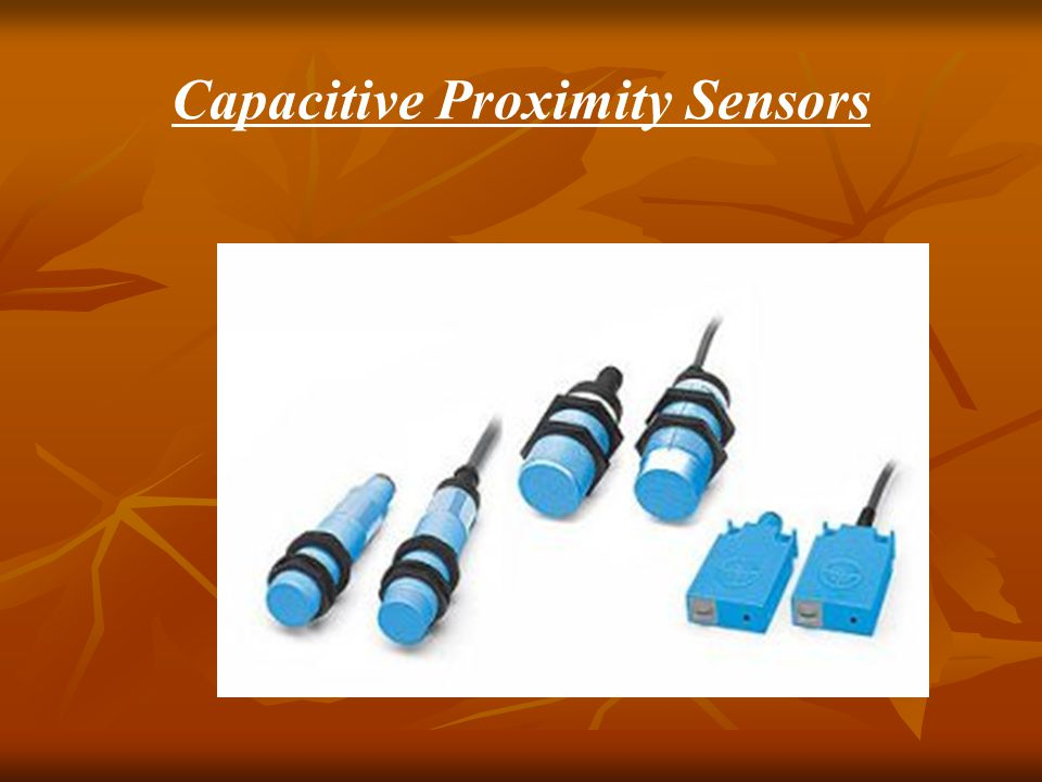 inductive proximity sensor working principle pdf