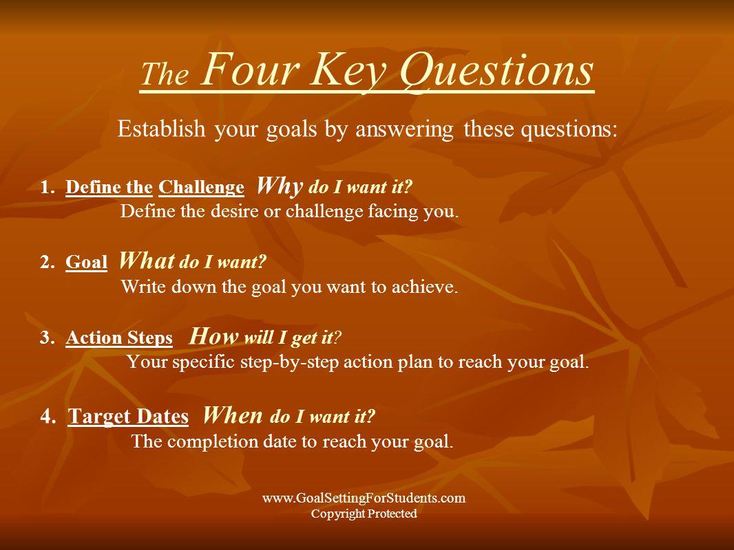 goal setting for students u00ae