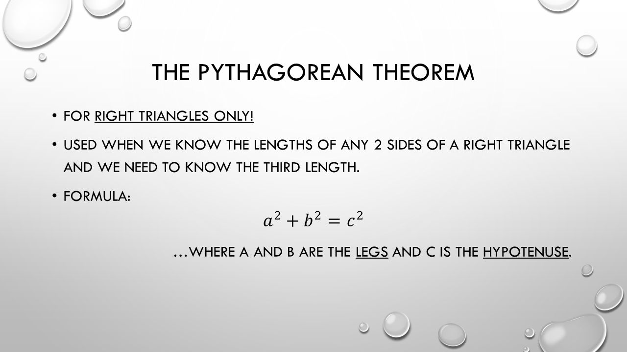 4 The Pythagorean Theorem How To Find