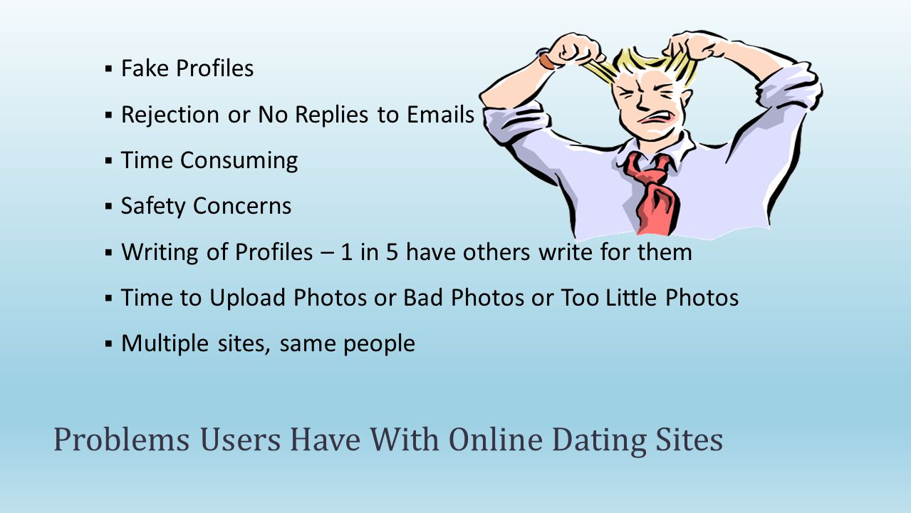 online dating difficulties Online dating is now one of the most common ways to start a relationship but is it fulfilling our dreams is online dating destroying love.