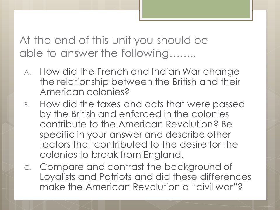 the contribution of the british acts to the american revolution The intolerable acts were a  american revolution: the intolerable acts  the congress called for a boycott of all british goods if the intolerable acts were.