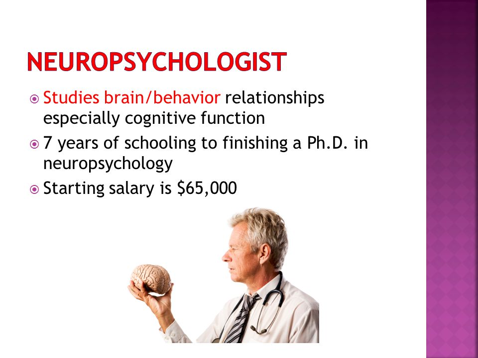 Psychologist study years