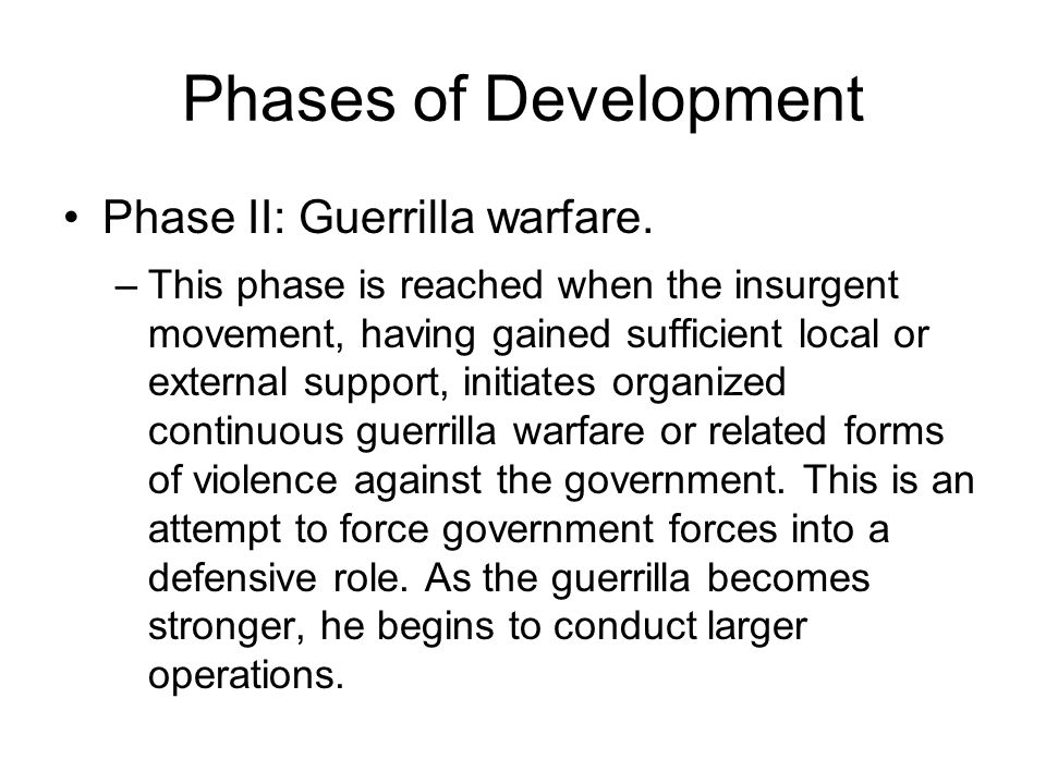 the role of guerrilla warfare in Guerrilla warfare definition, the use of hit-and-run tactics by small, mobile groups  of irregular forces operating in territory controlled by a hostile, regular force.
