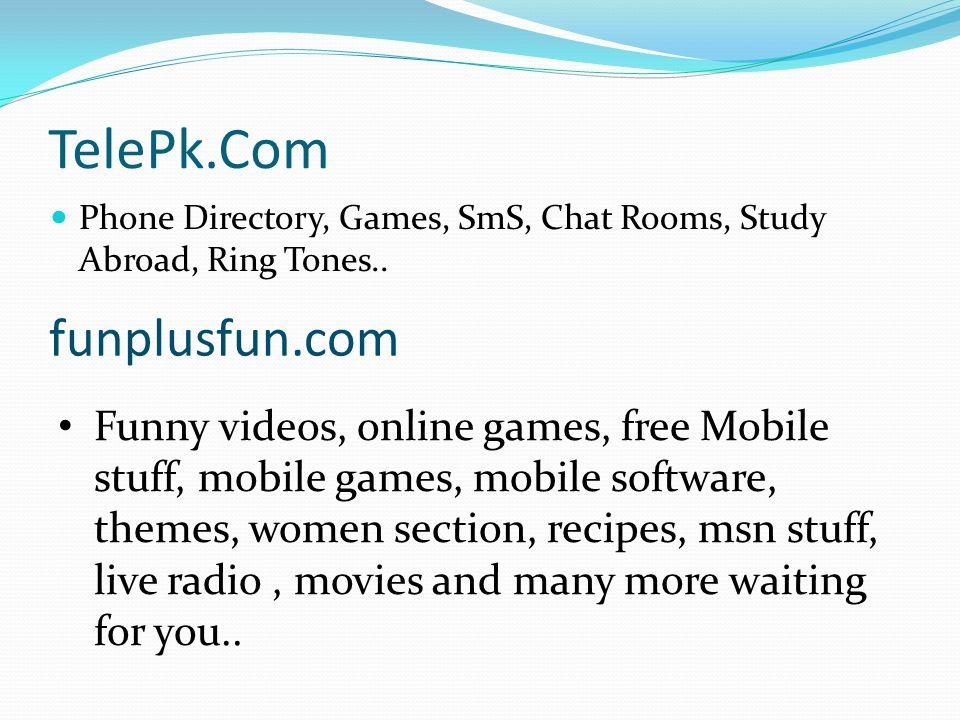 TelePk.Com funplusfun.com