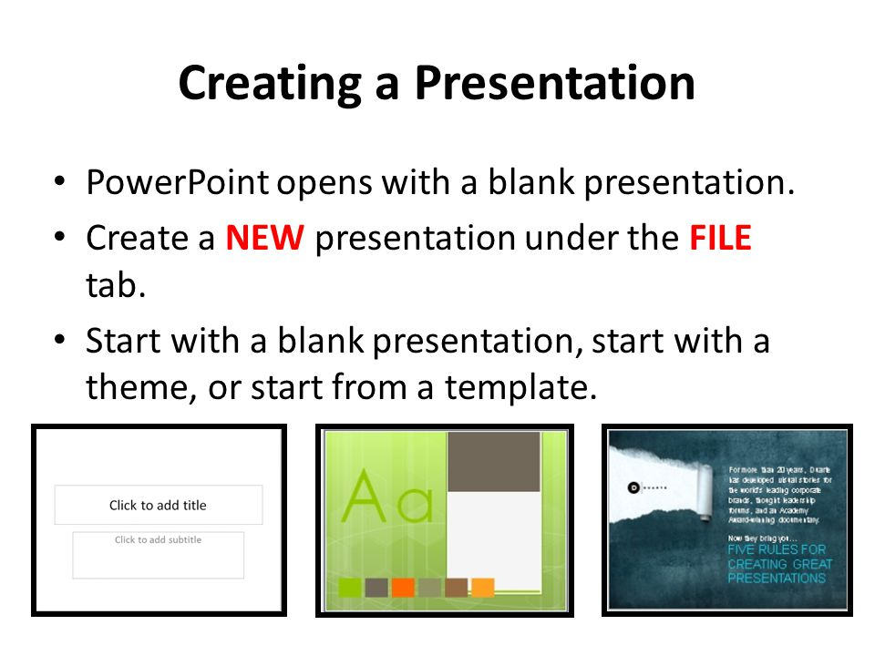 how to create new theme on powerpoint