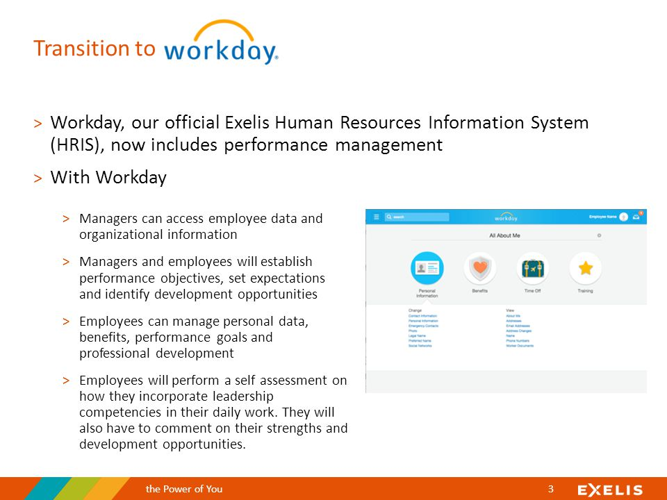 A Guide To Performance Management Welcome To Workday Ppt