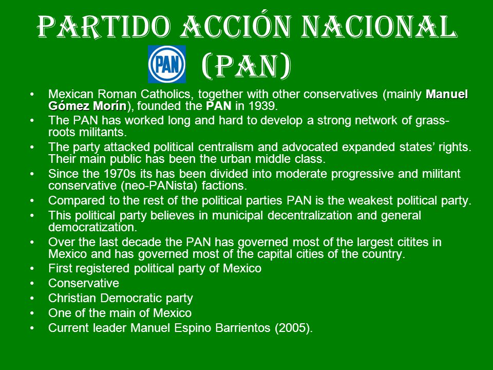an introduction to the various political parties in mexico In this article politics of japan introduction general overviews  political parties, the electoral system,  scholars approach all these topics from various.