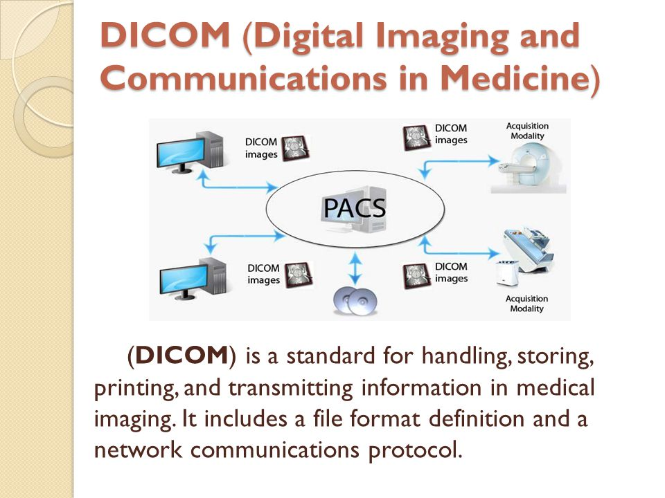 Introduction To Digital Radiography And Pacs Ppt Video