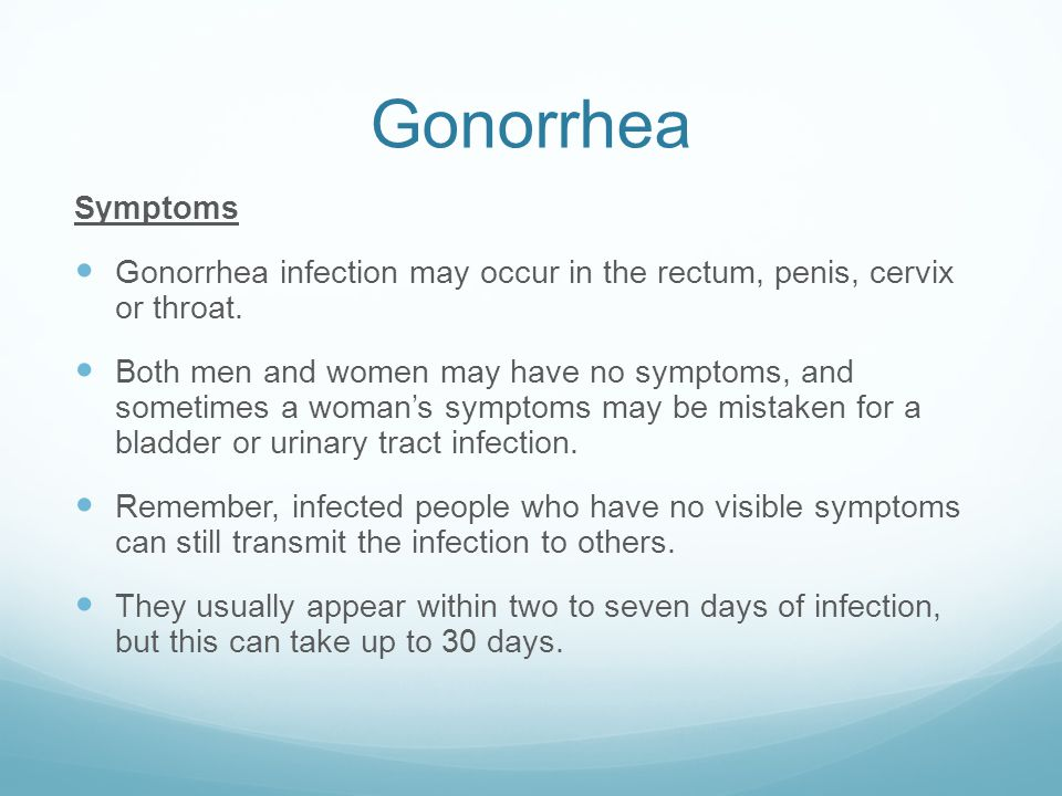 Oral Gonorrhea In The Throat Bacterial STI's. - p...