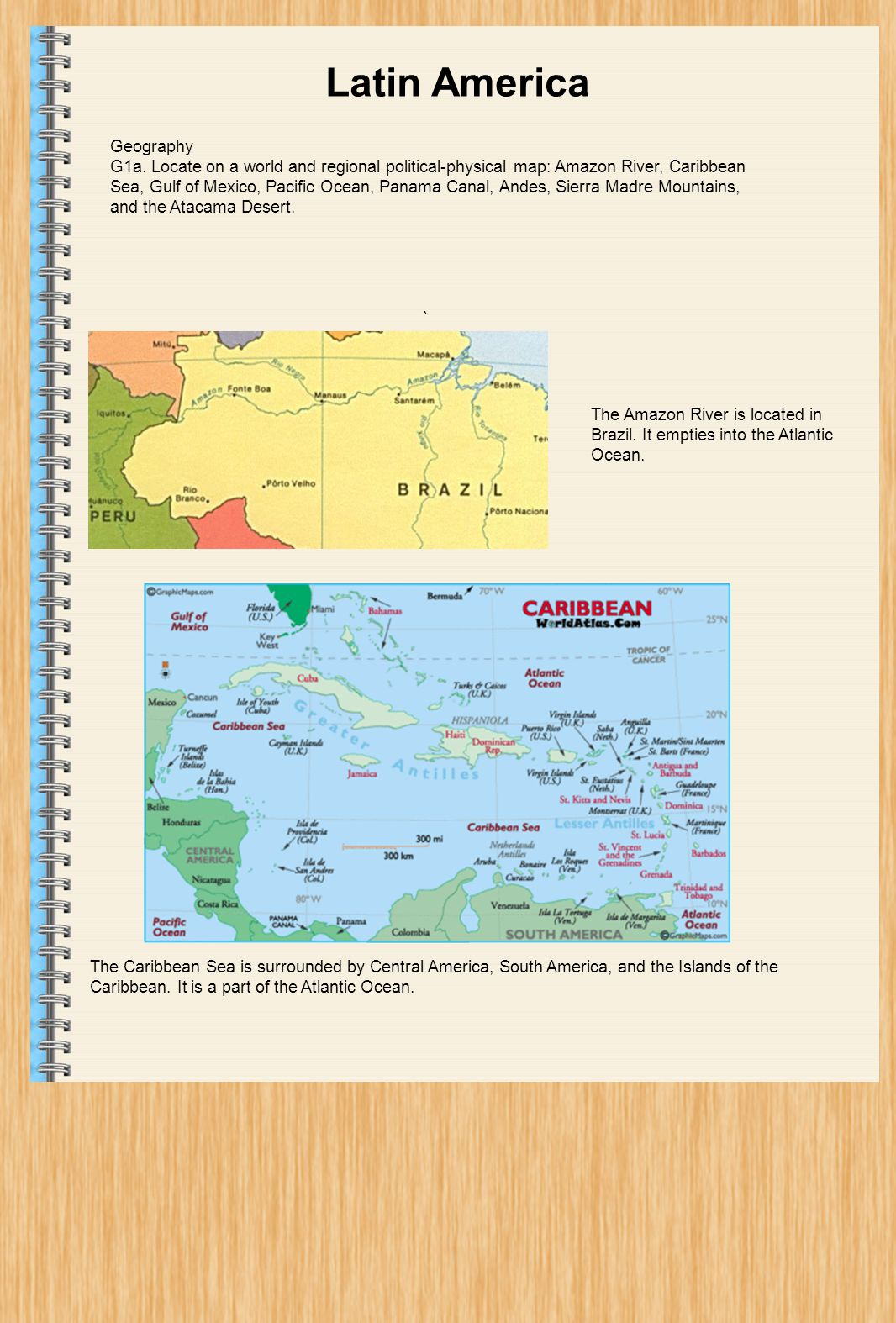 Latin America December Geography Ppt Download - Political map of panama caribbean sea