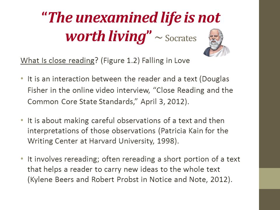 socrates the unexamined life essay Why does socrates think that the unexamined life is not worth living does he have a good defense of his philosophical life as the wisest man in all of ancient greece, socrates believed that the purpose of life was both personal and spiritual growth.