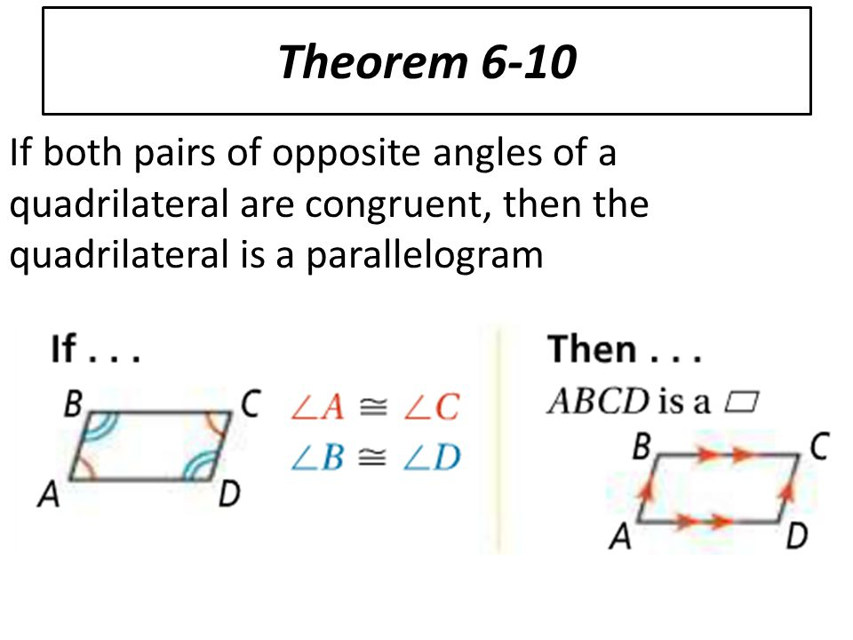how to solve a parallelogram angles