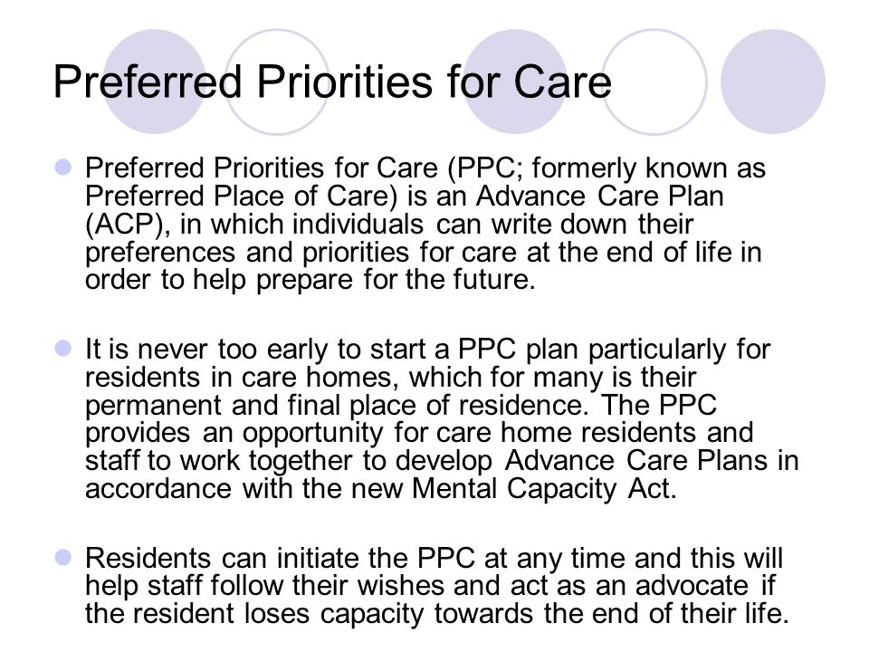 Palliative care hospital community ppt download for Preferred plans