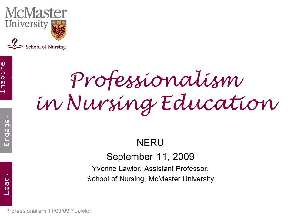 what is professionalism in nursing