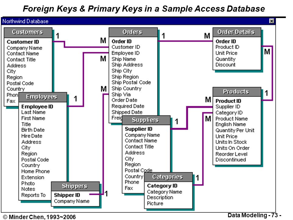 sample access databases