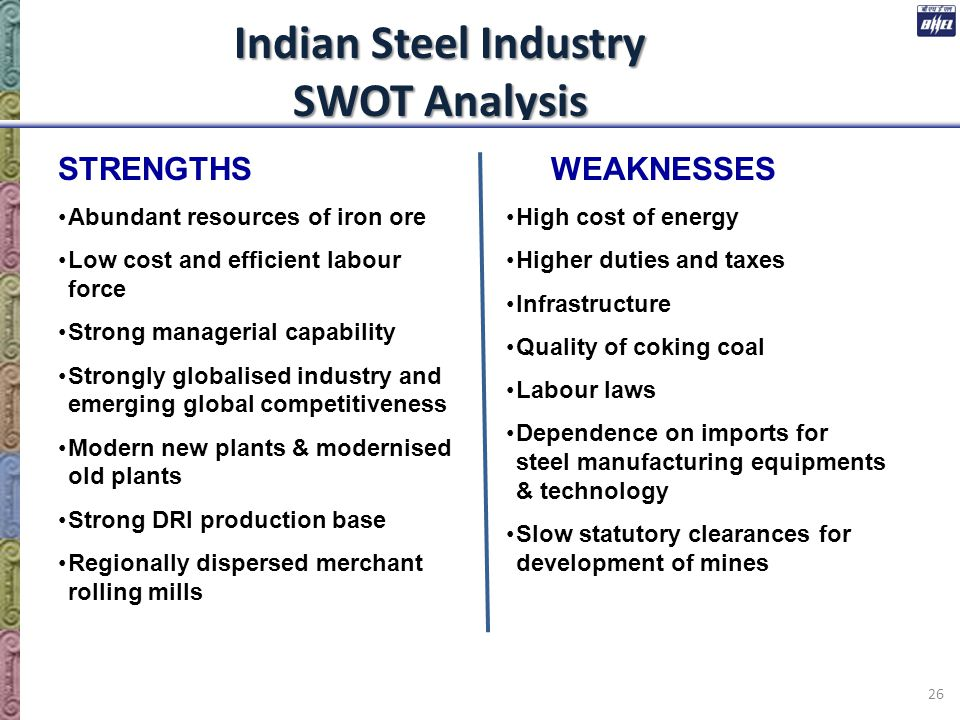 swot analysis of indian car industry Industry overview at the beginning the gas price and economy were stable, this create conducive environment for car manufacturers swot and pestel analysis of the automobile industry print reference this published.