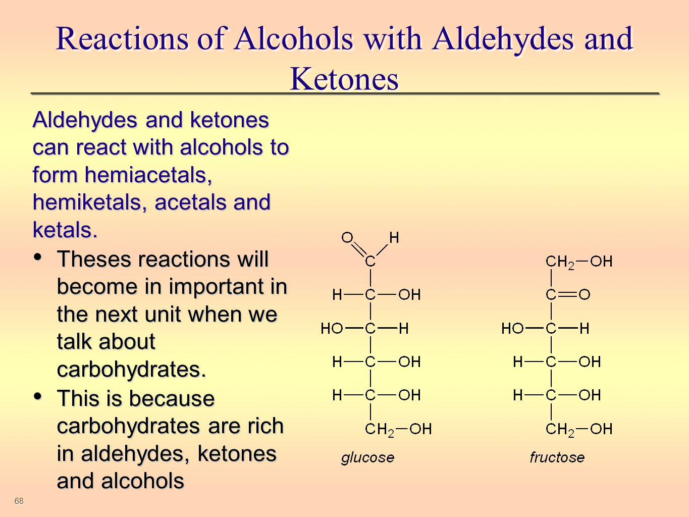 reactions of aldehydes and ketones essay Identification of aldehydes and ketones essay sample  hemiacetals, the products of reactions between alcohols and either aldehydes or ketones, are important in.