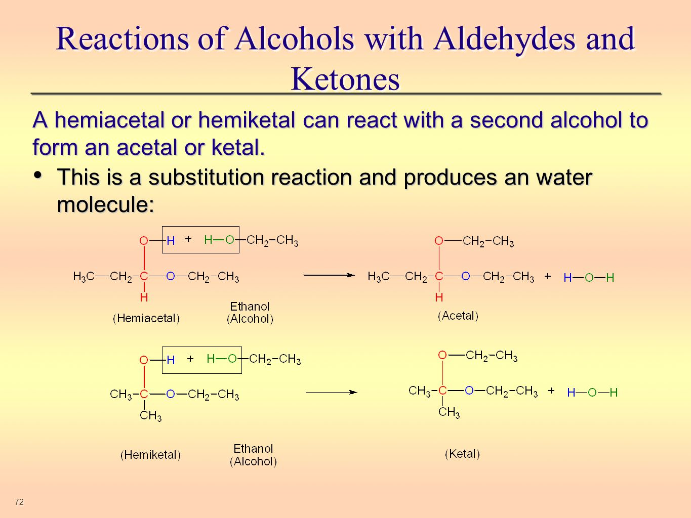 aldehydes and ketones Whereas, secondary alcohols oxidize to give ketones aldehydes also vary in smell low molecular weight aldehydes, eg, formaldehyde and acetaldehyde,.