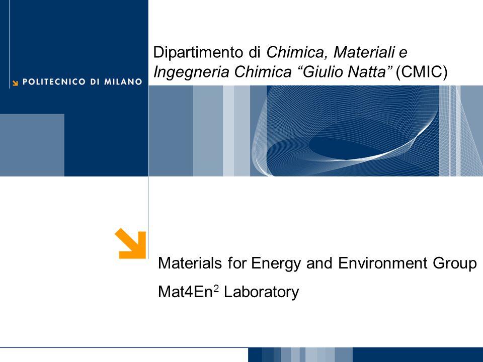 Dipartimento di Chimica, Materiali e Ingegneria Chimica Giulio Natta (CMIC)