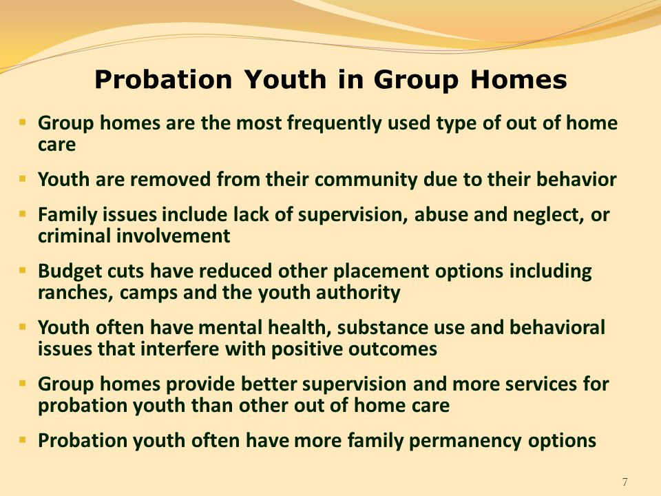 youth and supervision The alameda county probation department's juvenile justice supervision model  will be based on the principals of positive youth development (pyd.