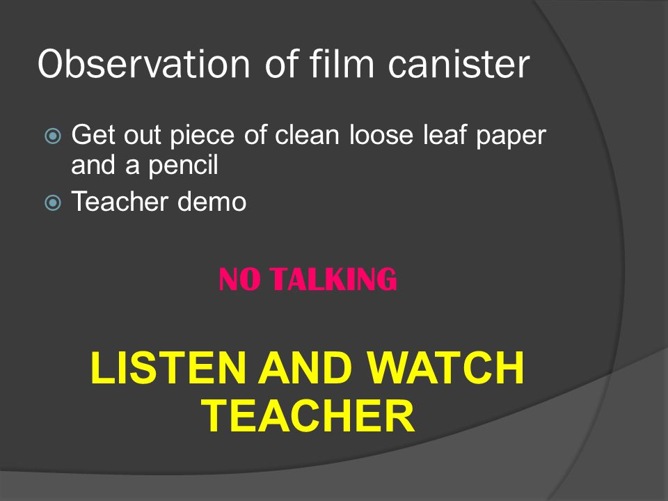 demonstration and observation of how an Classroom observation form  students in attendance, layout of room, distractions if any list any observations of how physical aspects affected content delivery).