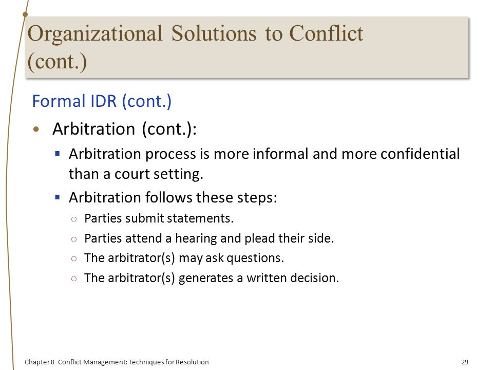 organizational conflict in a formal organization essay Definition: 'individual gathered towards under the similar circumstances to achieve common goals' every organization should have organization.
