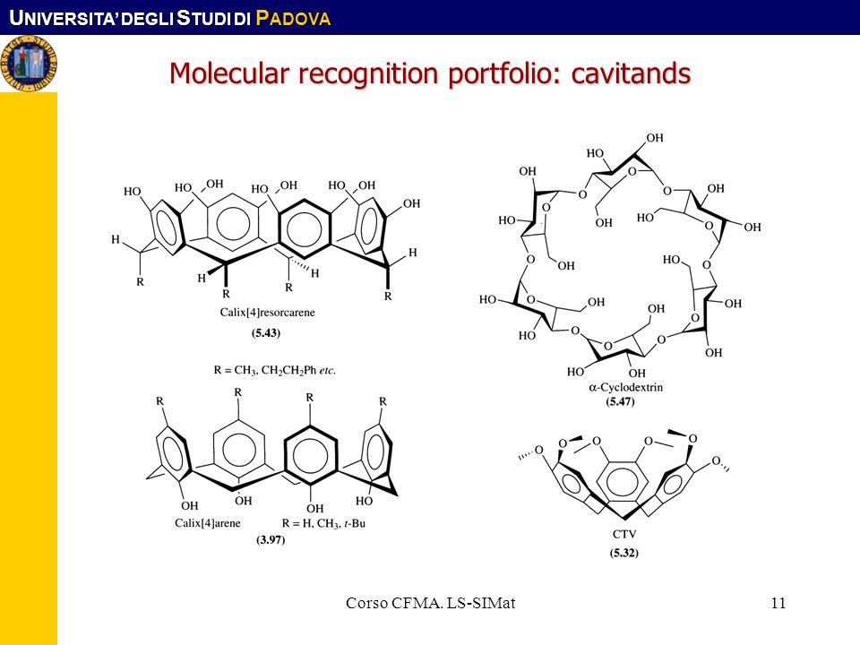 Molecular recognition portfolio: cavitands