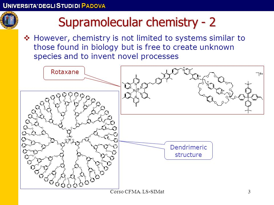 Supramolecular chemistry - 2