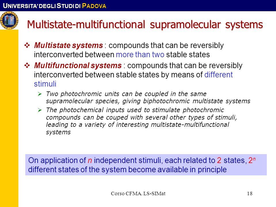 Multistate-multifunctional supramolecular systems