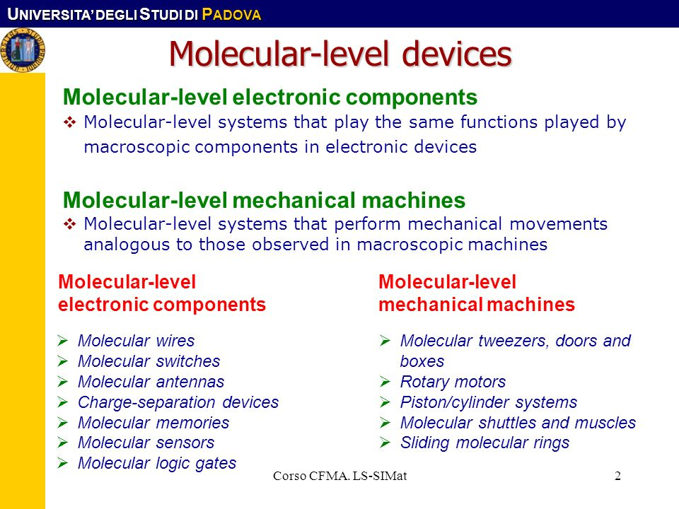 Molecular-level devices
