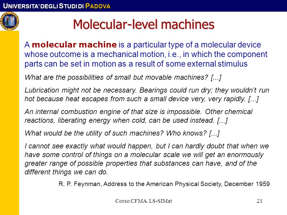 Molecular-level machines