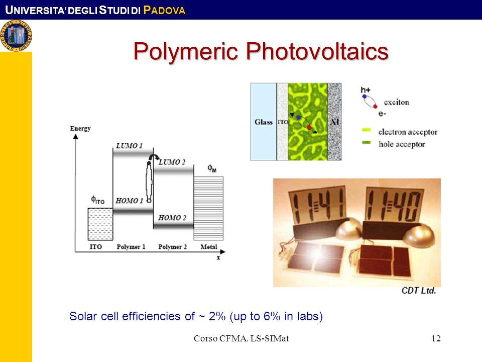 Polymeric Photovoltaics