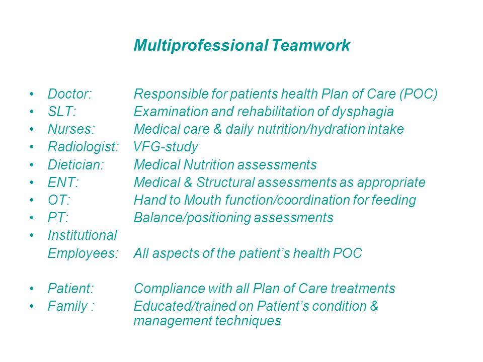 Multiprofessional Teamwork