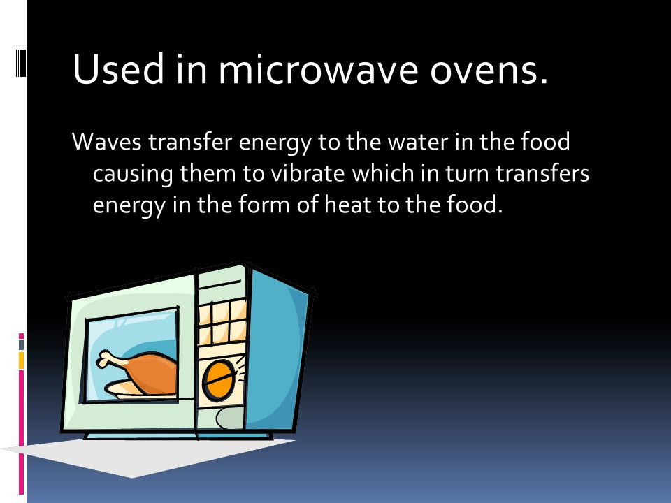 Used in microwave ovens.