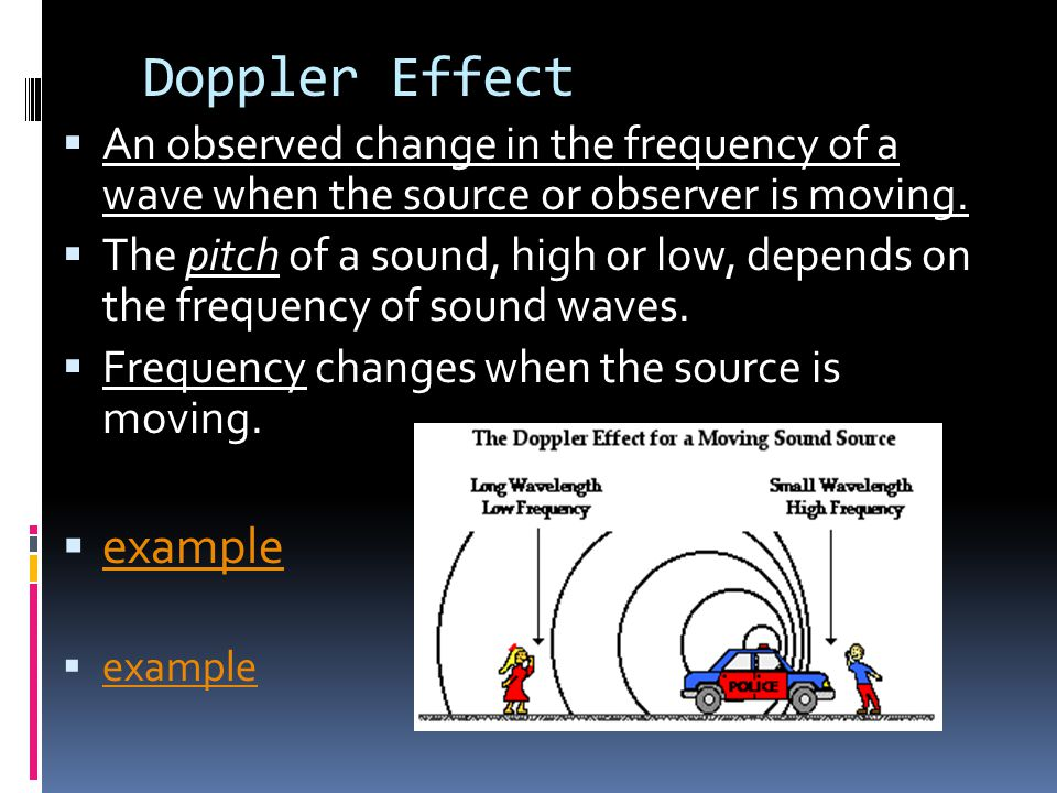 Doppler Effect example