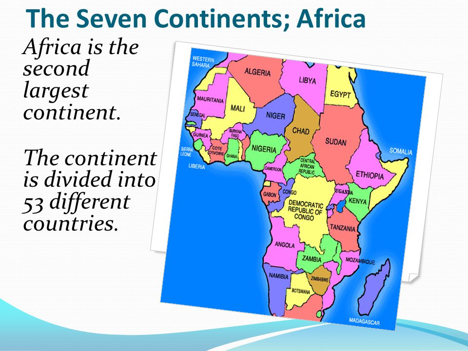The Continents And Oceans Of The World Ppt Download - Different continents of the world