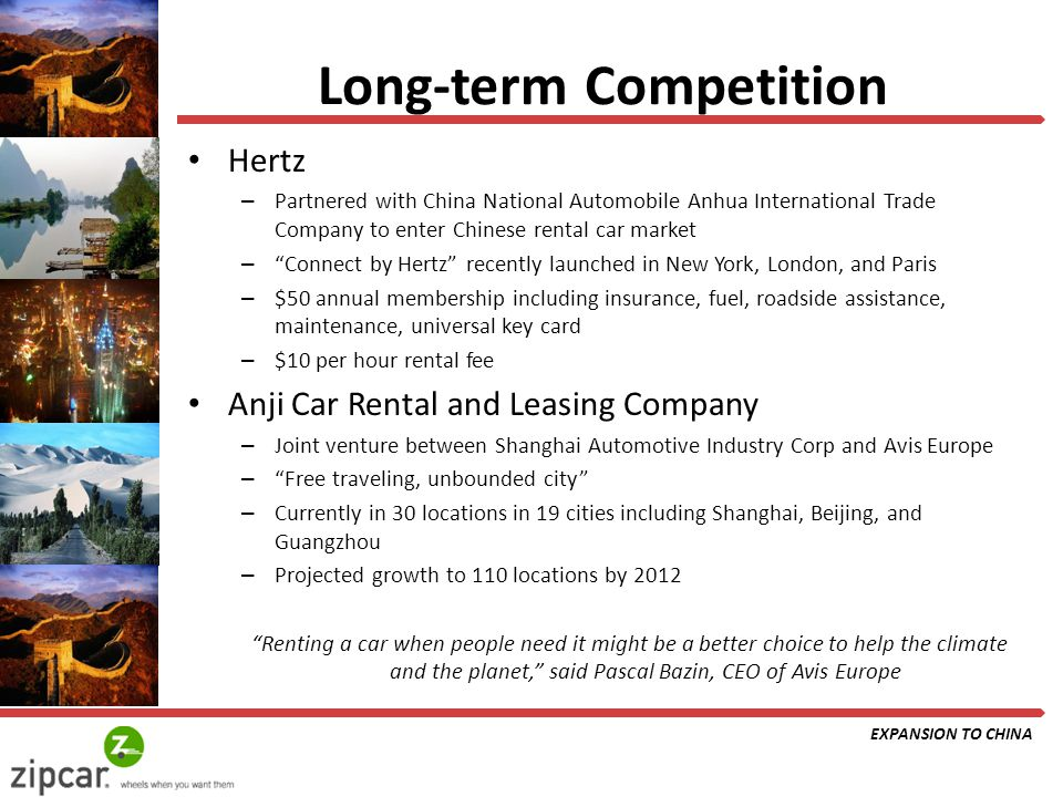 zip car to china marketing from a global perspective ppt download. Black Bedroom Furniture Sets. Home Design Ideas