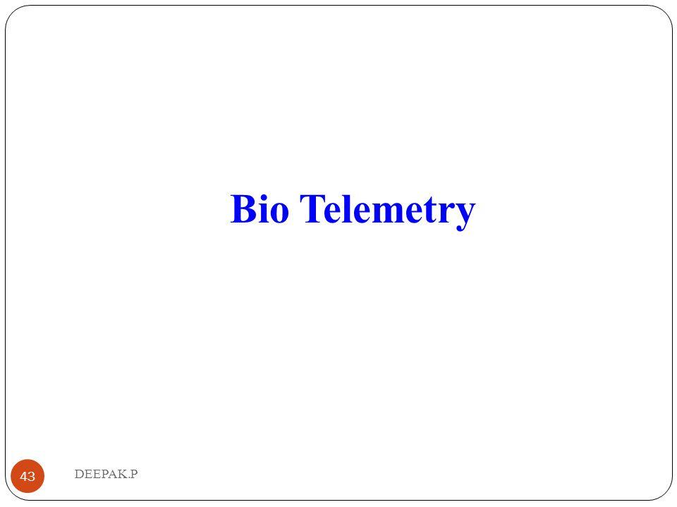 Bio Telemetry 43 DEEPAK.P