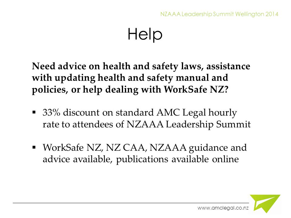 Write a health and safety policy for your business