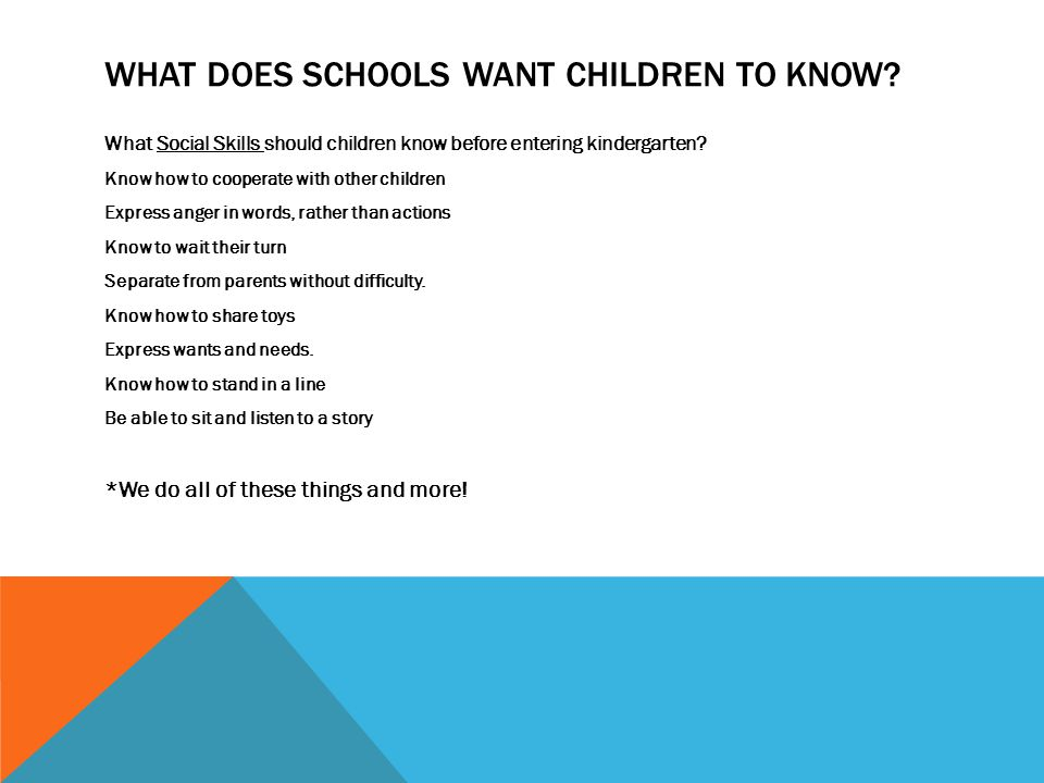Head Start and School Readiness Establishing and using ...