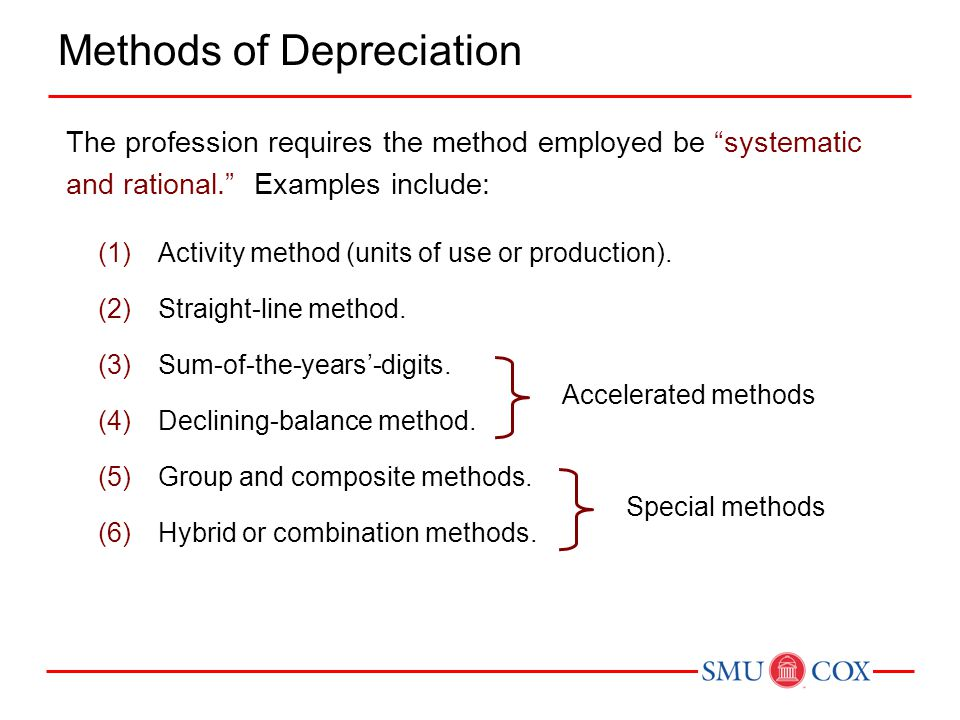use of accelerated depreciation methods allows An accelerated depreciation method is one which produces a higher  therefore  the use of an accelerated depreciation method properly reflects the  years  thereby deferring tax liabilities (assuming the tax regime allows it.