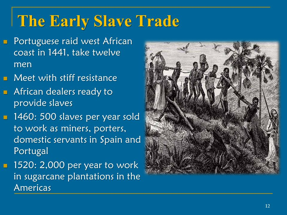 African Slavery - Assignment Example