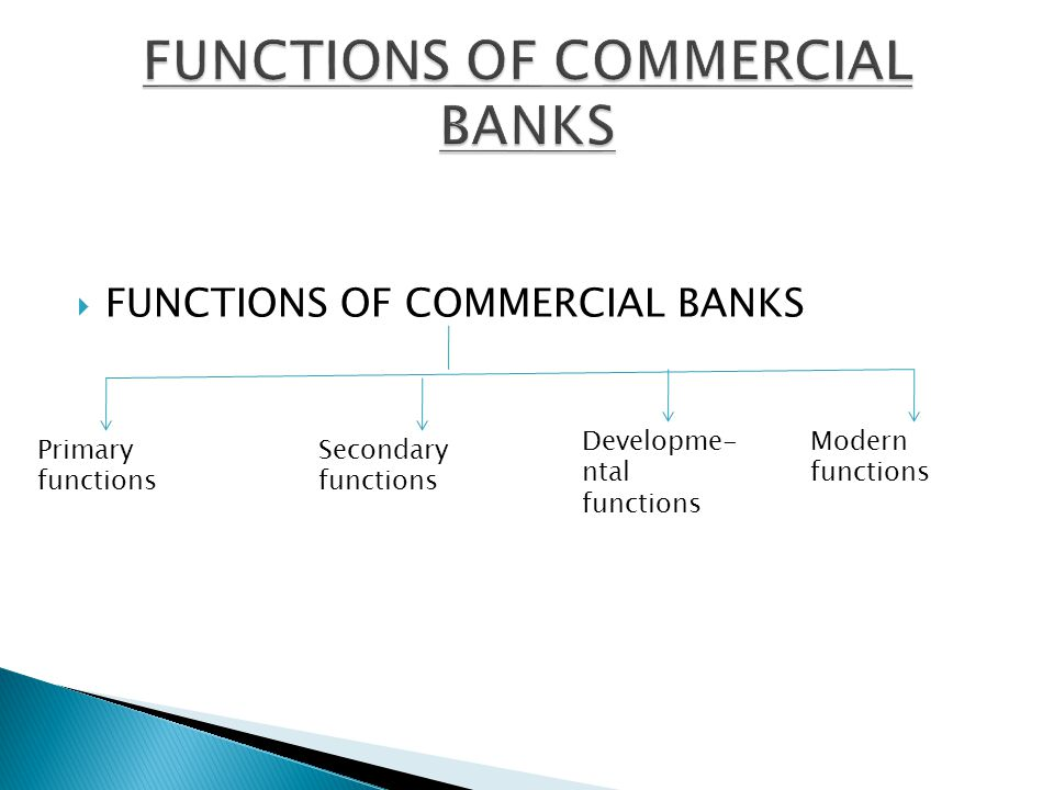 What Is the Role of Commercial Banks?