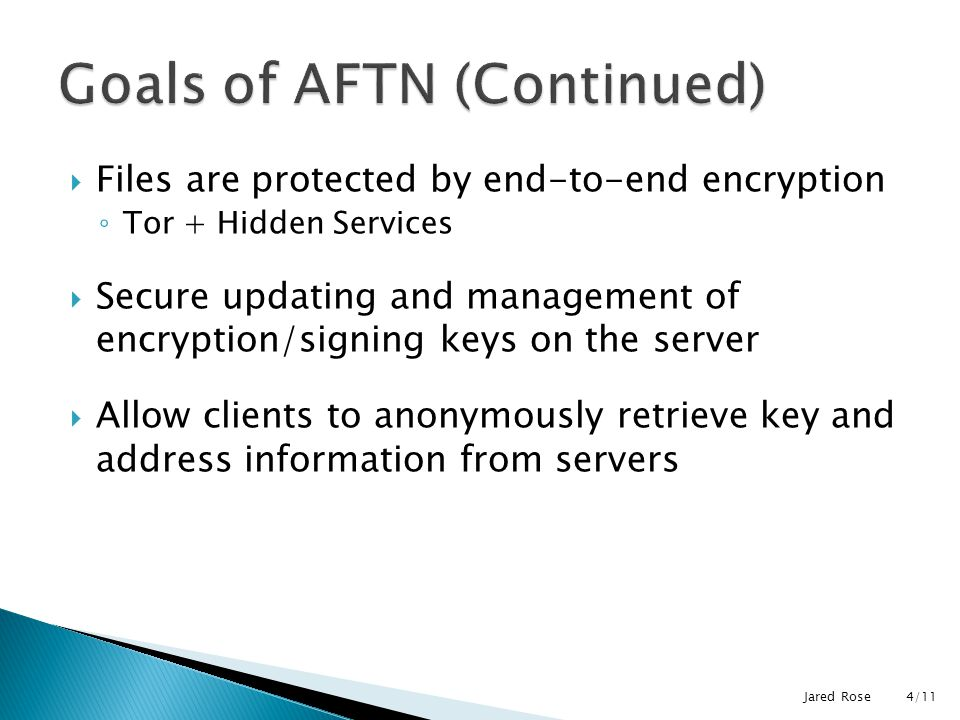 the anonymous file transfer network ppt download