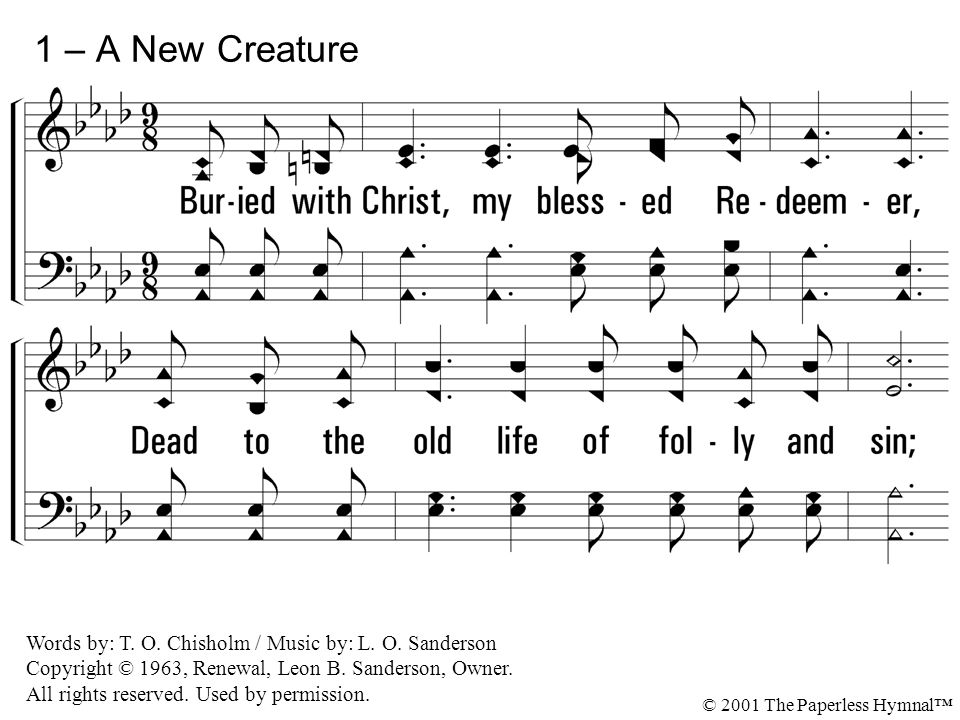 Buried With Christ My Blessed Redeemer: Praise Him Blessed Savior Sheet Music At Alzheimers-prions.com
