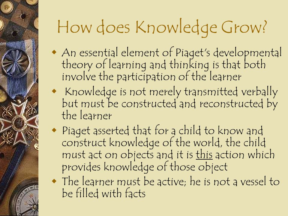 How does Knowledge Grow