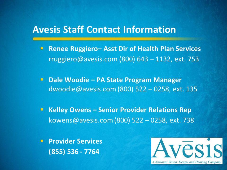 Avesis Health Partners Dental Providers & Staff - ppt video online ...